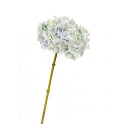 Гортензия цвет нежно-голубой с нежно-сиреневым и лаймовым переливом д-19 см, в-47 см 12/48
