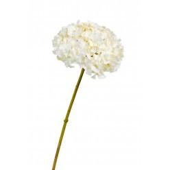 Гортензия белая с ванильным д-19 см, в-47 см 12/48