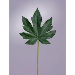 Лист Аралии темно-зеленый в-42 см (лист 16х17 см) 24/288