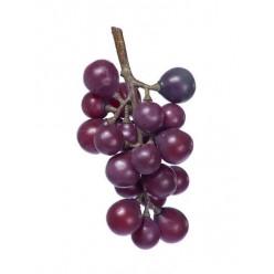 Виноград черный гроздь малая в-15 см 8/192