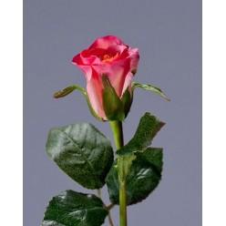 Роза Анабель розовая в-52 см, в-4,д-3 см 12/144