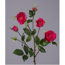 Роза Вайлд ветвь темно-малиновая в-41 см 3цв,3бут 24/144