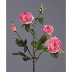 Роза Вайлд ветвь розовая в-41 см 3цв,3бут 24/144