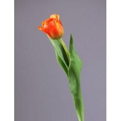 Тюльпан Даймонд оранжевый в-44см, цветок в-5, д-5 см 12/144