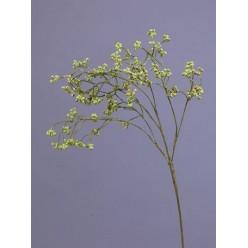 Ветка развесистая с мини-ягодками нежно-зеленая в-64 см 12/144