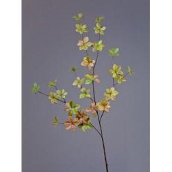 Ветвь Барбариса большая нежно-зелено-розовая в-102 см 6/48