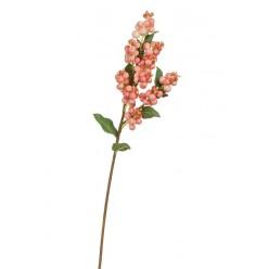Ветка Снежноягодника нежно-розовая в-51 см 12/144