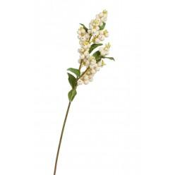 Ветка Снежноягодника белая в-51 см 12/144