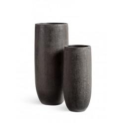 Кашпо Effectory Stone высокий конус-чаша
