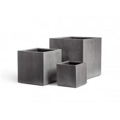 Кашпо Effectory Beton куб