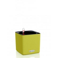 Кашпо Lechuza Cube Color 14 лайм