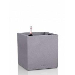 Кашпо Lechuza Canto Color Cube 30 серый камень