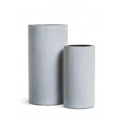 Кашпо Effectory Beton Высокий цилиндр Серый ледник